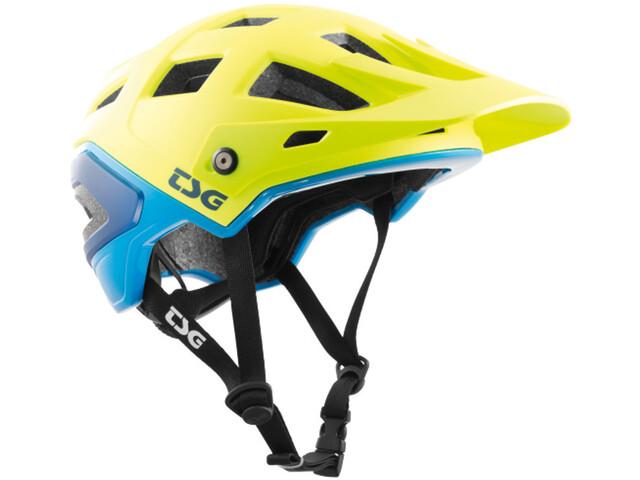 TSG Scope Graphic Design Helmet acid yellow-blue